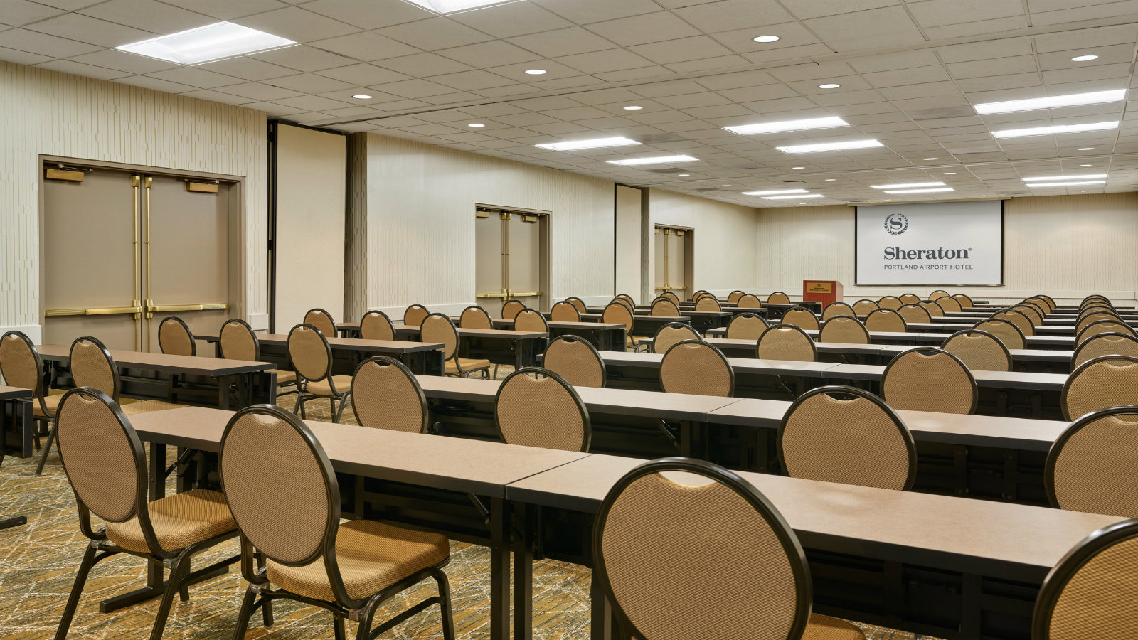 Classroom Set Up | Sheraton Portland Airport Hotel